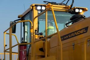 v2v, myvandel, vandel, landfill compactor, fire safety, security